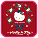 Hello Kitty Red Christmas icon