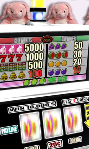 【免費紙牌App】3D Pink Bunny Slots - Free-APP點子