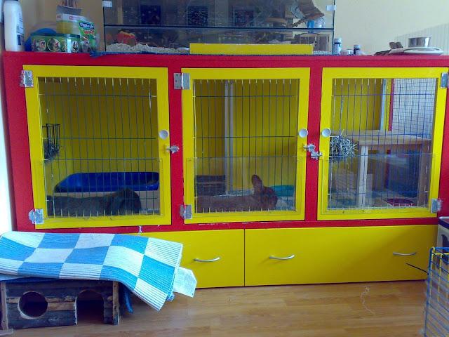 Konijnenhok Van Dressoir Tips Huisvesting Bunnybunch