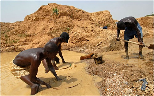 The diamond mines of Sierra Leone | Amusing Planet