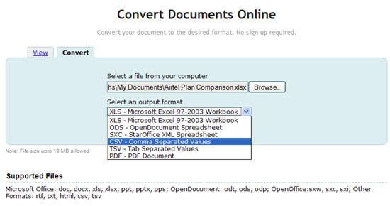 Zoho Launches Online Document Converter - Instant Fundas