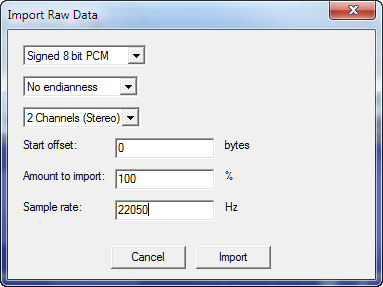 audacity-import-raw