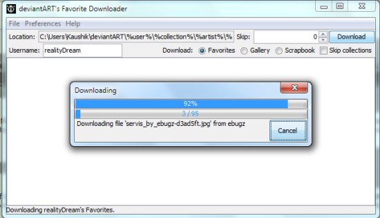 deviantart-downloader
