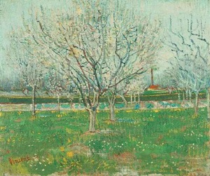 Orchard in Blossom (Plum Trees)