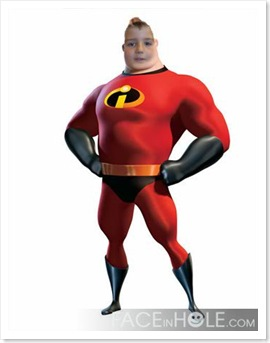 Míster Incredible Antón