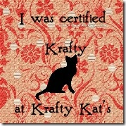Certified Krafty Button