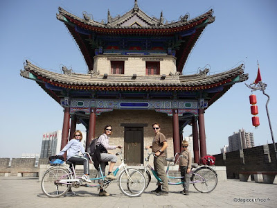 montagne xian chine