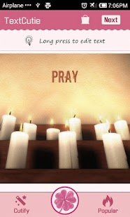 Prayer Theme TextCutie - screenshot thumbnail