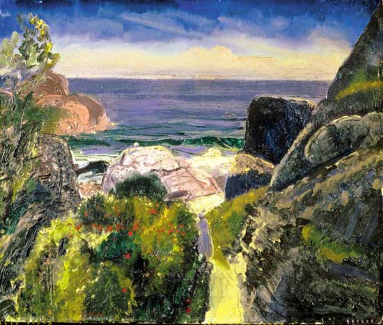 george bellows, paradise point