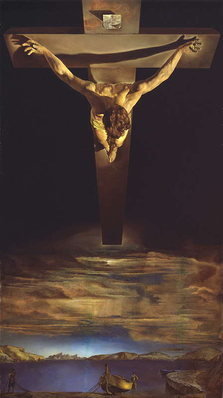 salvador dalí, christ of st. john of the cross