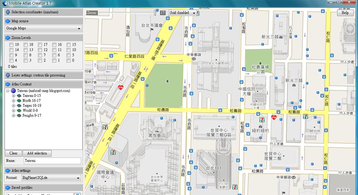 Atlas Map Creador Android // tarlaulivi ga