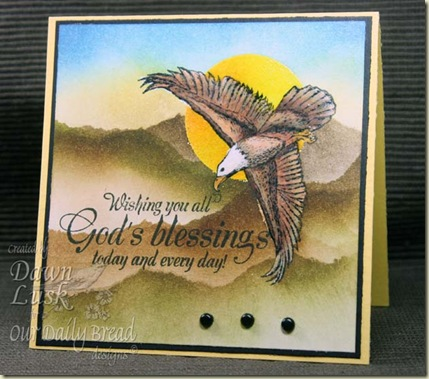 God's Blessings Eagle