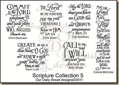 Scripture Collection 5