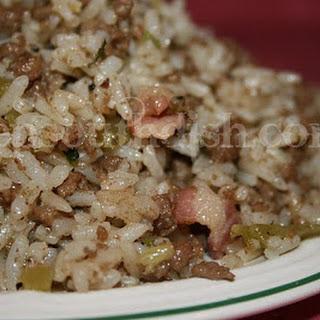 Cajun Dirty Rice.