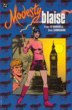 DC Comics Modesty Blaise, graphic novel, adapted from the first Modesty Blaise novel, with artwork by Dick Giordano