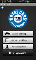 Screenshot of Royal Taxis