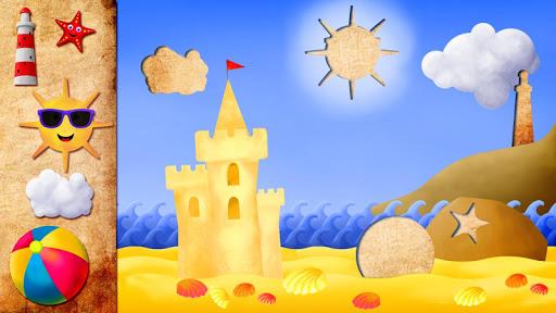 子供のためのアニメーションのHDパズル