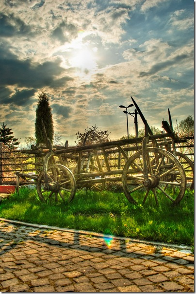 afternoon-old-cart-in-the-sun