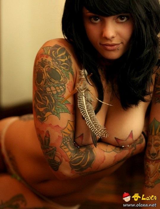 garotas tatuadas e gostosas parte 1