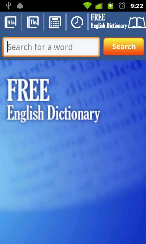 Free English Dictionary- screenshot