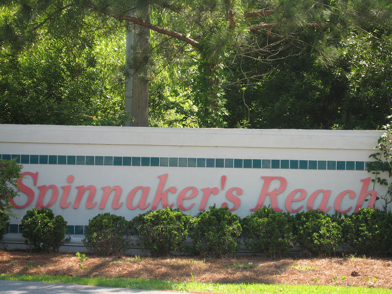 Entrance - Spinnakers Reach at the beach - Emerald Isle North Carolina