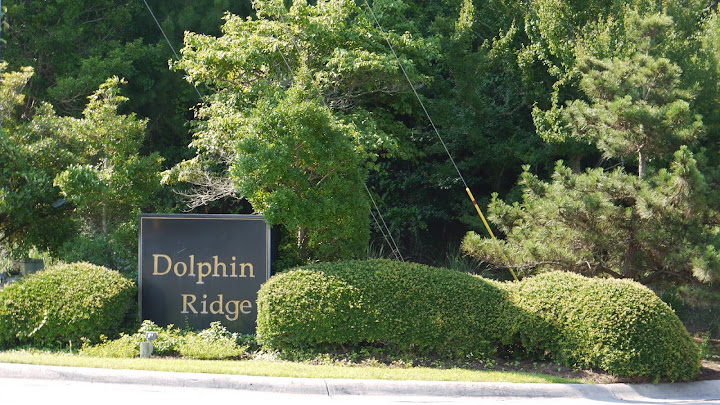 entrance sign - Dolphin Ridge - Emerald Isle North Carolina