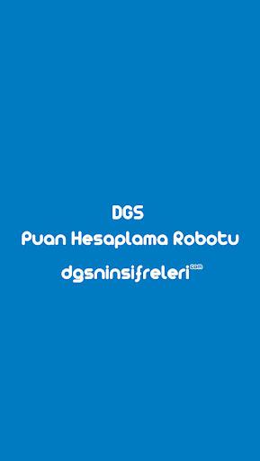 DGS Puan Hesaplama Robotu