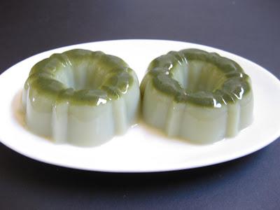 Matcha Agar Jelly