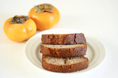 close-up photo of a slices of Persimmon Bread