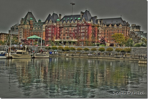 The Empress Hotel in HDR