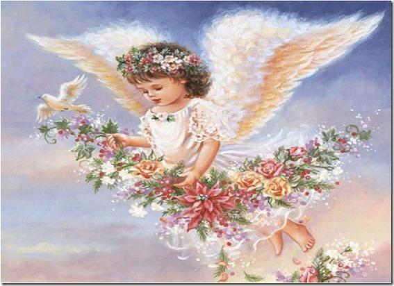 Imagenes Celestiales Angelitos Del Cielo De Dona Gelsinger