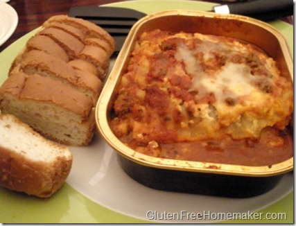 Irish Channel lasagna