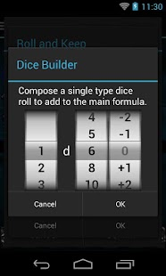Quick Dice Roller- screenshot thumbnail
