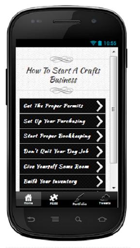 Start A Crafts Business