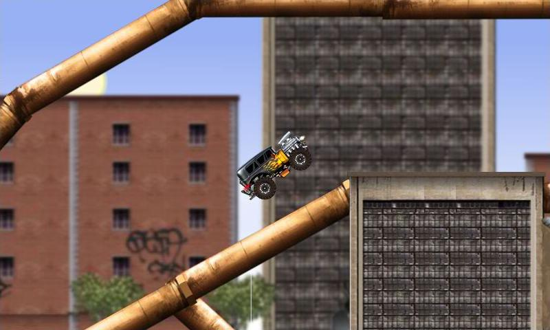 Monster truck Game Rage Truck- screenshot