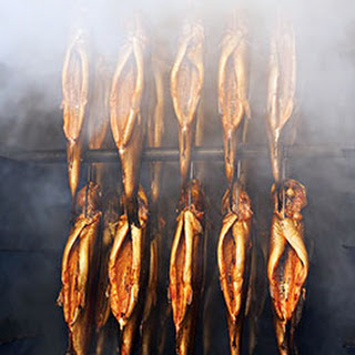 Hardwood-Smoked Trout