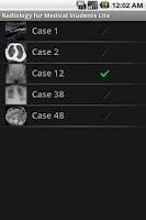 Screenshot of Radiology 4 Med Students Lite