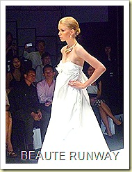Swarovski at Audi Fashion Festival Jayson Brunsdon Dress 05
