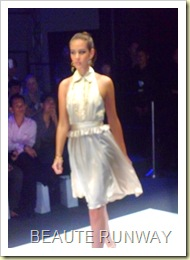 Swarovski at Audi Fashion Festival Jayson Brunsdon Dress 11