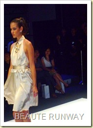 Swarovski at Audi Fashion Festival Jayson Brunsdon Dress 22