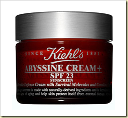 kiehls abyssine cream beaute runway