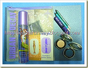 urban decay launch gift pack beaute runway