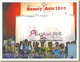 NAIL ASIA 2010 CONTEST MODELS