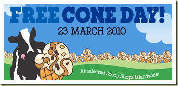 ben jerry free cone day