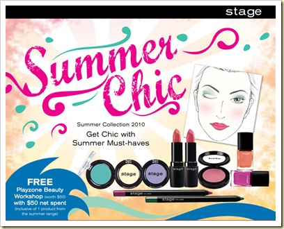 stage cosmetic summer chic