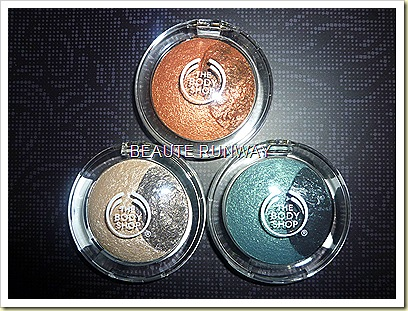 The Body Shop Baked Eyeshadows