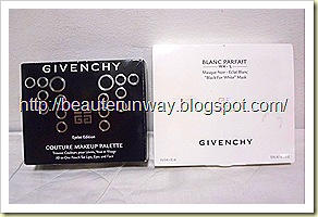 Givenchy Black Mask and Limited edition eyelet makeup set