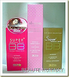 Skin79 BB Cream Hot pink, Diamond and Super VIP