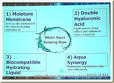 Aqualabel key ingredients
