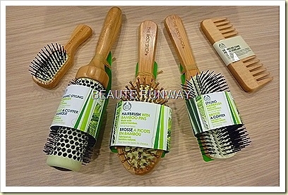 The Body Shop Ec-conscious Rainforest Hair Care Brushes